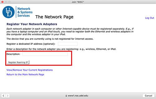 macOS Wi-Fi Screen Capture - Description